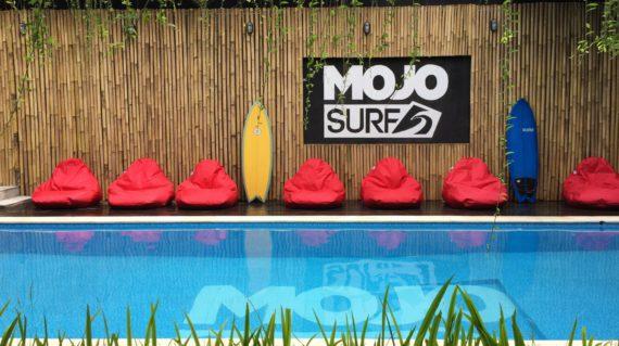 Mojosurf Surf Camp Canggu Pool