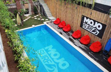 Canggu Surf Camp pool area