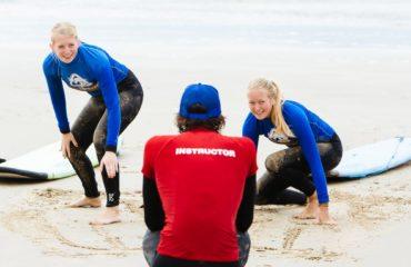 Surf instructor at Mojosurf Academy