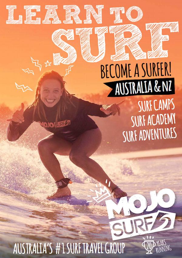 Mojosurf Australia NZ Brochure