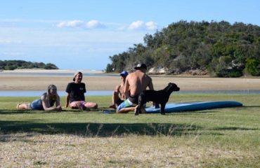 Riverside at Spot X Surf Camp