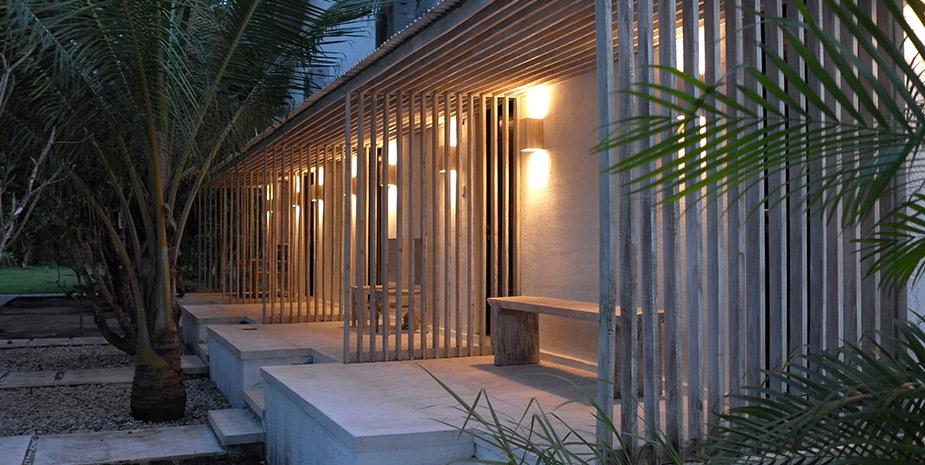 Resort style accommodation