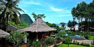 Red Island Surf Camp accommodation, Java