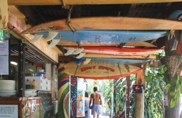 Food at the Arts Factory Cafe, Byron Bay