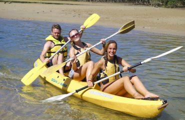 kayak spot x surf camp