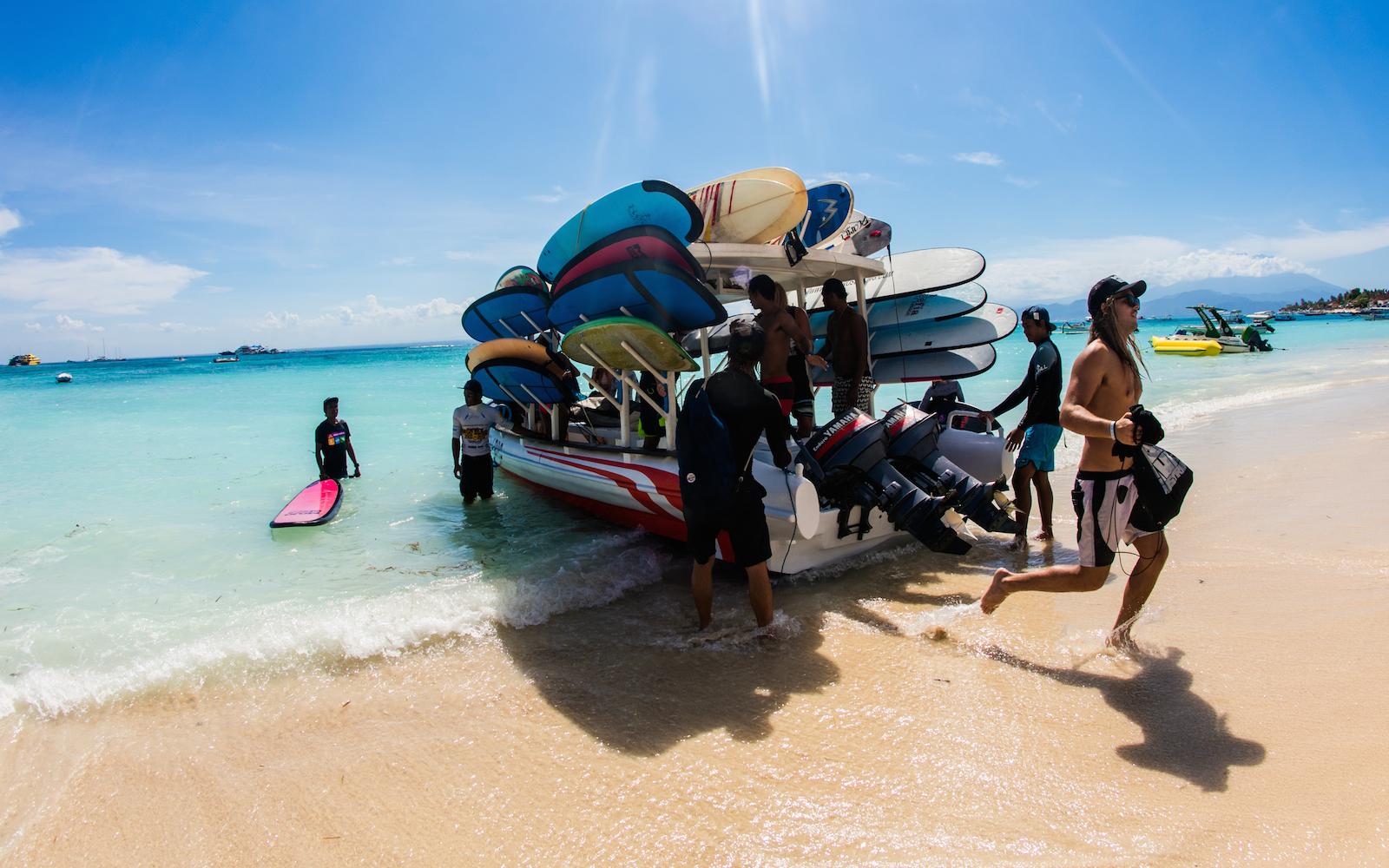 Nusa Lembongan Island Hopper Surf Adventure
