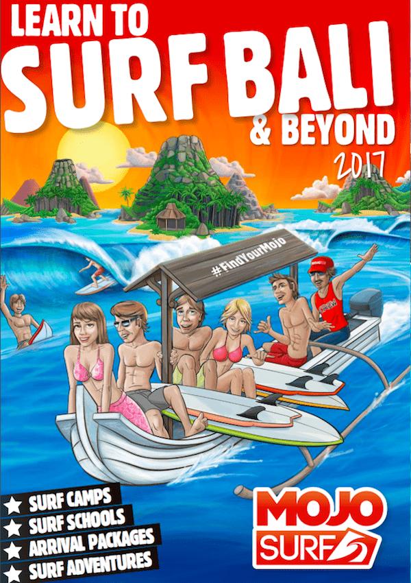 Mojosurf Bali Brochure 2017