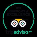Mojosurf Tripadvisor Certificate of Excellence 2017