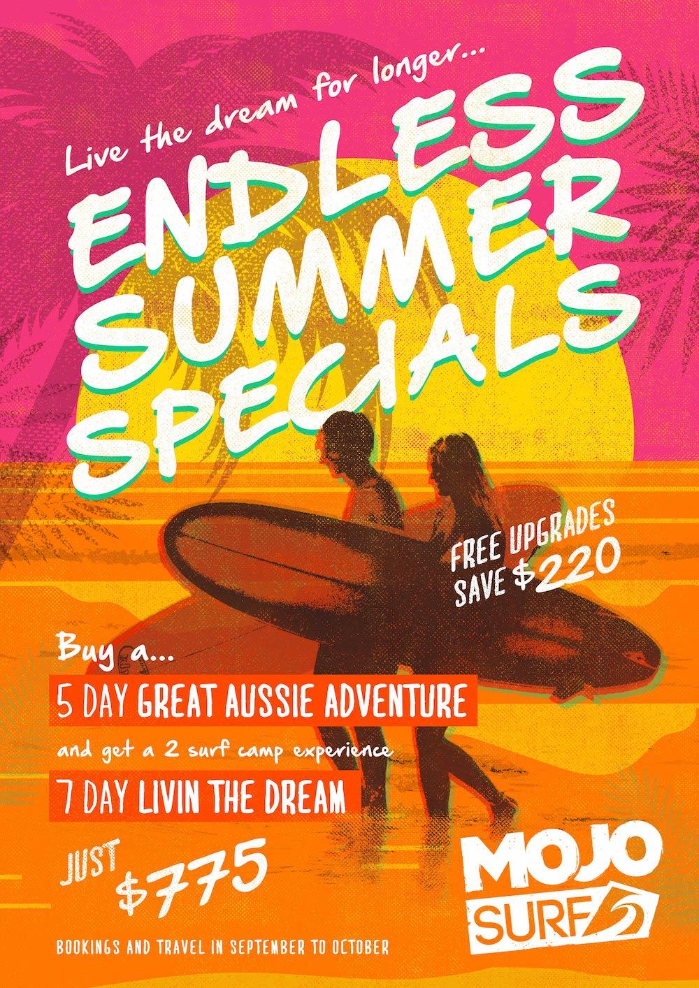 Mojosurf Surf Adventure Specials