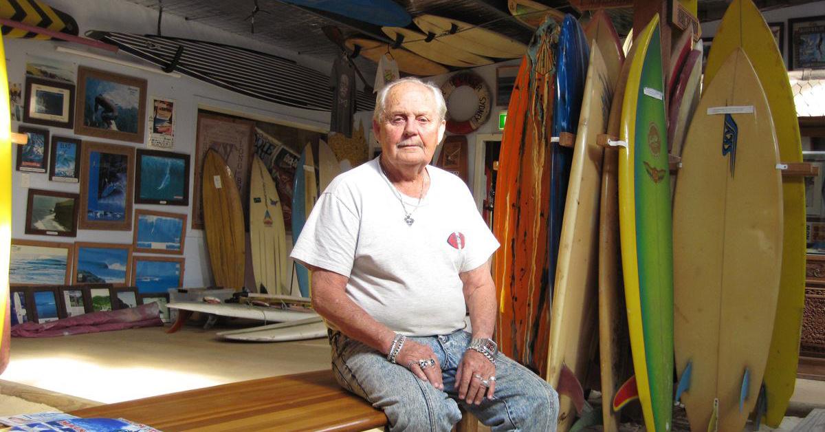 Scott Dillon Legends Surf Museum
